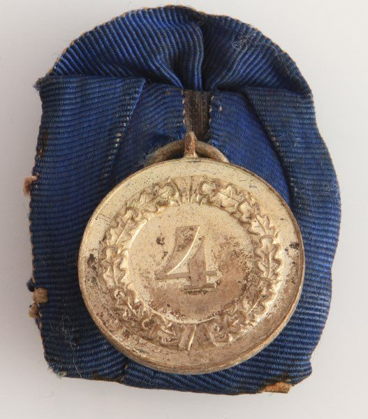 GERMAN WWII HEER LONG SERVICE MEDAL W RIBBON - 3