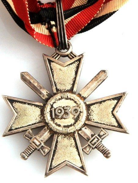WWII THIRD REICH KNIGHT'S CROSS OF WAR MERIT CROSS - 3