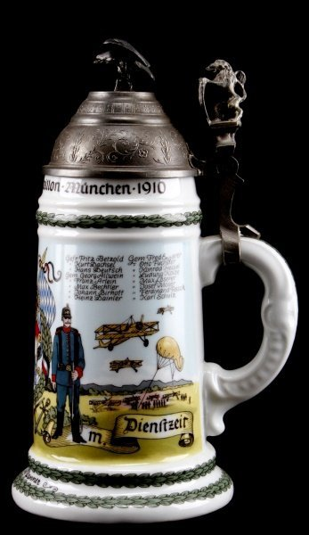 QUALITY WWI IMPERIAL GERMAN REPRO REGIMENTAL STEIN