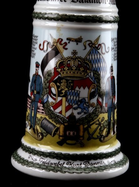 QUALITY WWI IMPERIAL GERMAN REPRO REGIMENTAL STEIN - 2