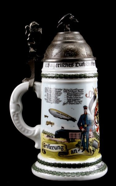 QUALITY WWI IMPERIAL GERMAN REPRO REGIMENTAL STEIN - 3