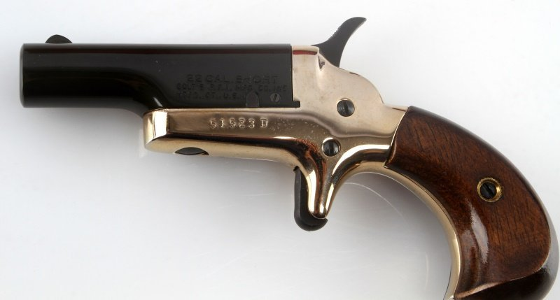 COLT 4TH MODEL SINGLE BARREL DERRINGER .22 SHORT - 3