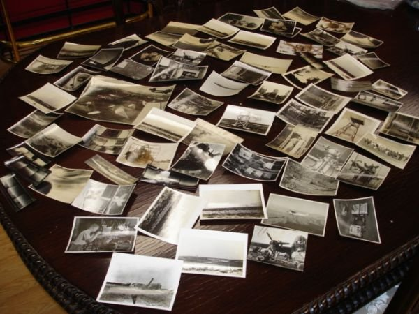 10274: HUGE EARLY AVIATION TO WWII 66 PHOTO LOT CLASSIF