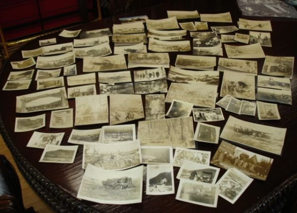 10270: HUGE LOT OF WWI PHOTO DEATH & DESTRUCTION