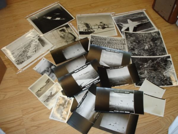 10265: WWII ARMY AIR FORCE AVIATION PHOTO HUGE LOT 23