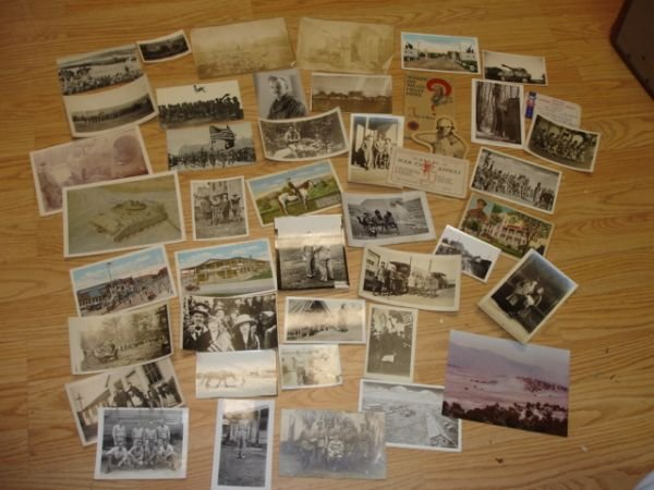 10264: WWI WWII US ARMY PHOTO & EPHEMERA LOT