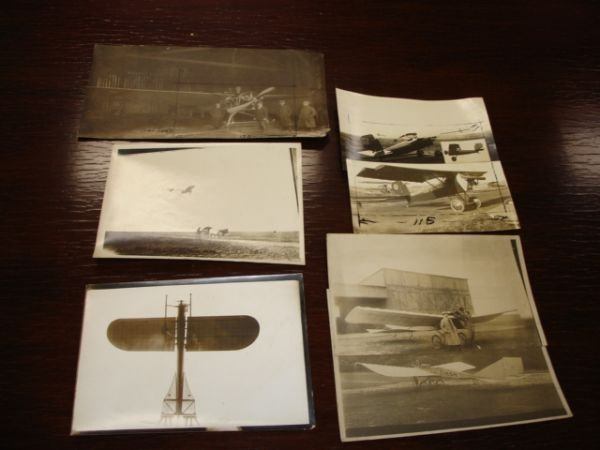 10262: EARLY AVIATION PHOTO LOT LEBLANC MONOPLANE