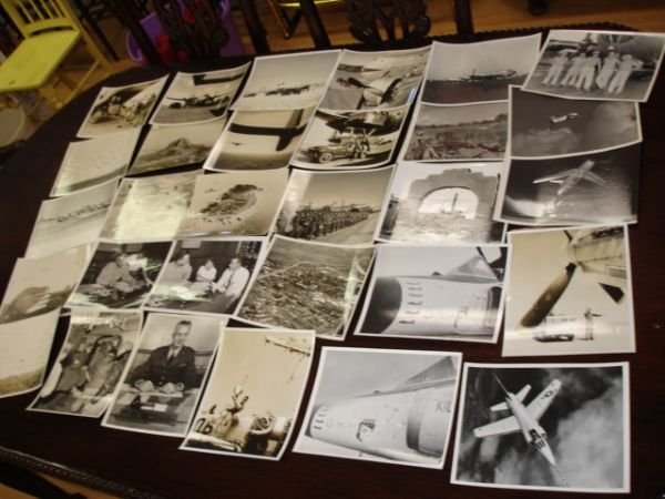 10259: KOREA WAR US AIR FORCE UFFICIAL PHOTO LOT OF 30