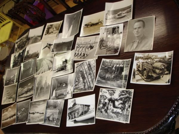 10261: WWII KOREA WAR HUGE PHOTO LOT BURMA BOMBINGS