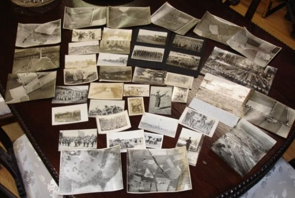 10258: WWI US MILITARY PHOTO LOT SUBMARINE PANAMA CANAL
