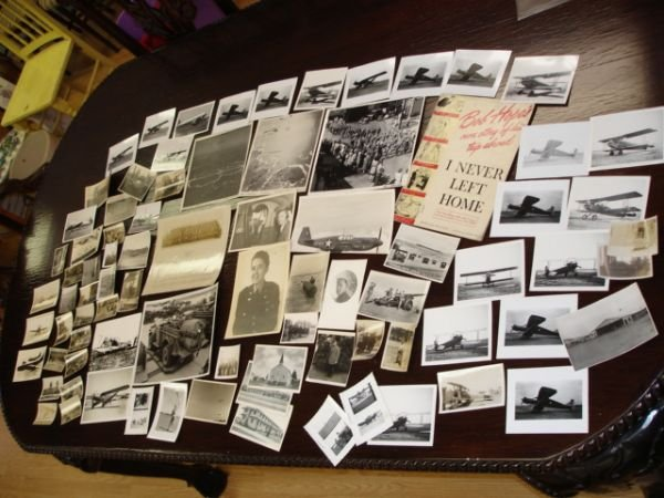 10255: WWII TO VIETNAM HUGE PHOTO LOT EPHEMERA HOPE BOB