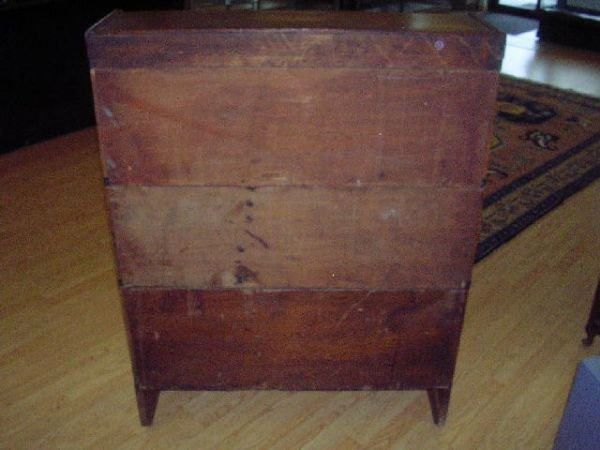 10460: ANTIQUE BARRISTER BOOKCASE THREE SECTION OAK - 2