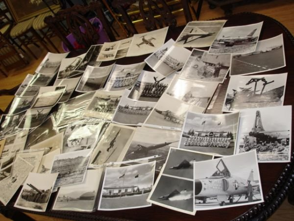 10251: WWII 2 PRESENT HUGE LOT US AIR FORCE JET PHOTO L