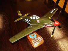 10397 WWII P51MUSTANG FLYING TIGERS NAMED AIRPLANE
