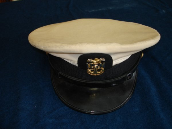 11: US NAVY MASTER CHIEF HAT NAMED SUBMARINE COMMAND MA