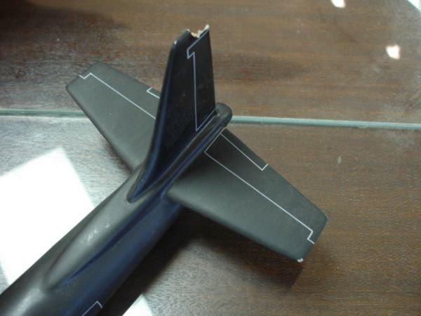 18: SR22 BLACKBIRD US AIRFORCE U-2 SPYPLANE MODEL ON ST - 6