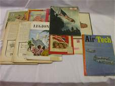 370: EMBRY RIDDLE WWII AVIATION LOT FLY PAPER ISSUES MO