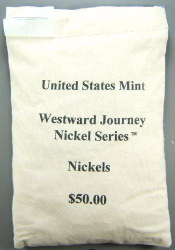 18: US MINT $50 BAG 2005-D WESTWARD JOURNEY NICKELS