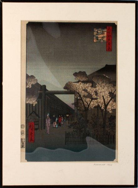 ANDO HIROSHIGE (1797-1858) UKIYO-E WOODBLOCK JAPAN