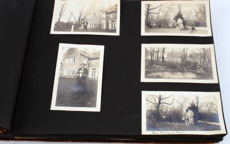 LARGE COLLECTION EARLY1900S BLACK AND WHITE PHOTOS - 2