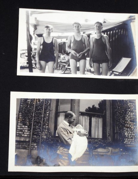 LARGE COLLECTION EARLY1900S BLACK AND WHITE PHOTOS - 5