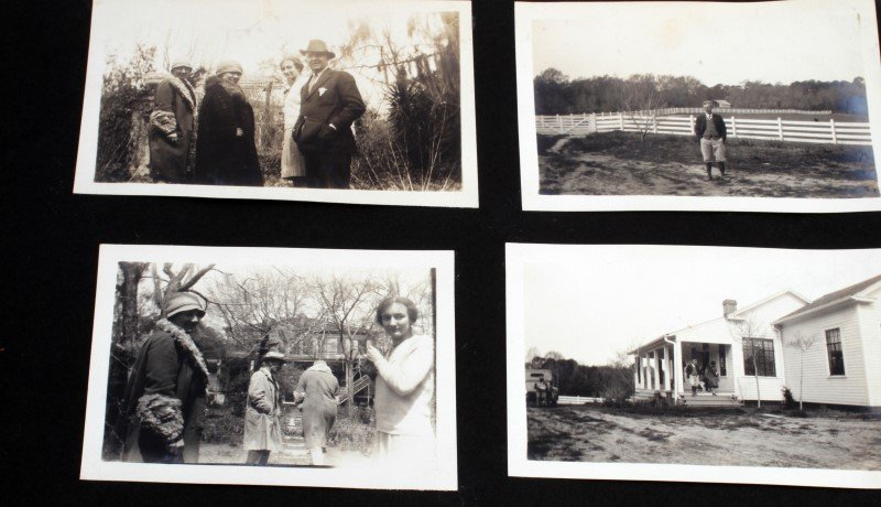LARGE COLLECTION EARLY1900S BLACK AND WHITE PHOTOS - 6