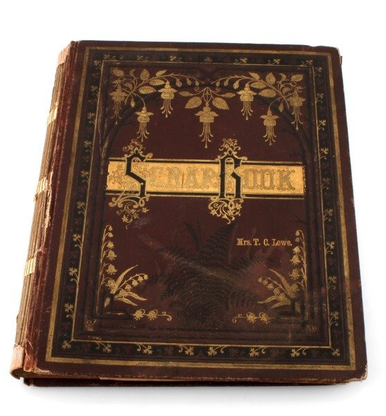 SCRAP BOOK OF EARLY 1900S MEMPHIS NEWS PAPERS