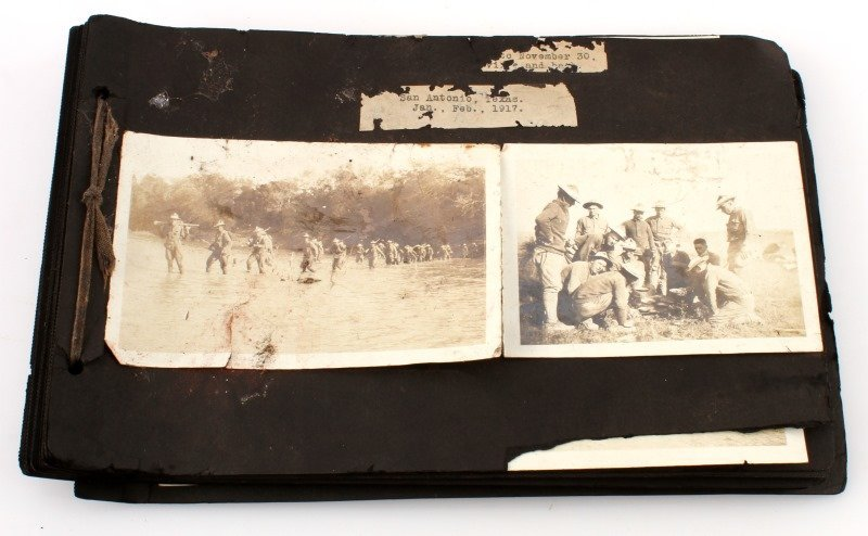 EARLY 1900S TEXAS MEXICAN BORDER MILITARY PHOTOS