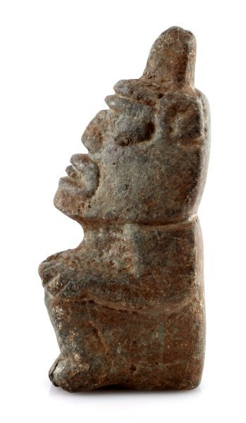 MAYAN BELIZE NEW RIVER REGION STONE FIGURAL LITHIC