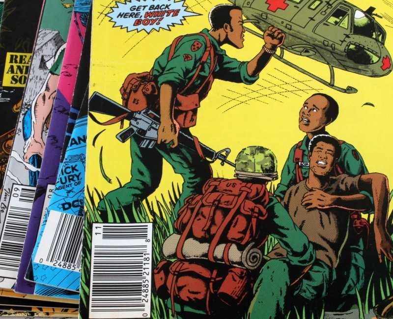 "LOT OF 16 SCARCE MARVEL COMIC BOOKS ""THE NAM"" - 2"
