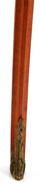 LOUIS XV STYLE HALF MOON WINE TABLE CONSOLE - 3