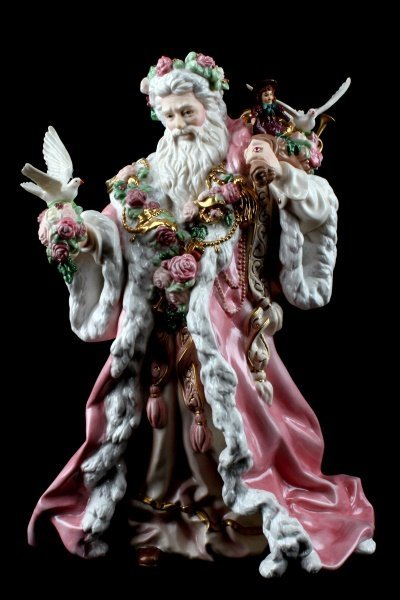 FRANKLIN MINT ALEJANDRO LEMUS FATHER CHRISTMAS