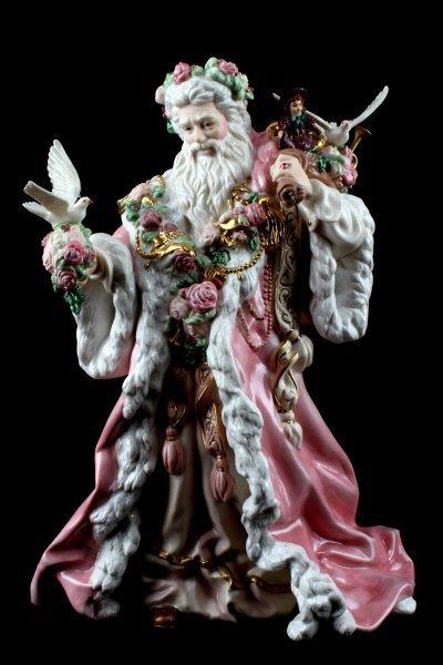 FRANKLIN MINT ALEJANDRO LEMUS FATHER CHRISTMAS