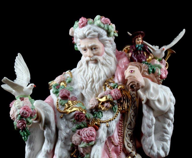 FRANKLIN MINT ALEJANDRO LEMUS FATHER CHRISTMAS - 2