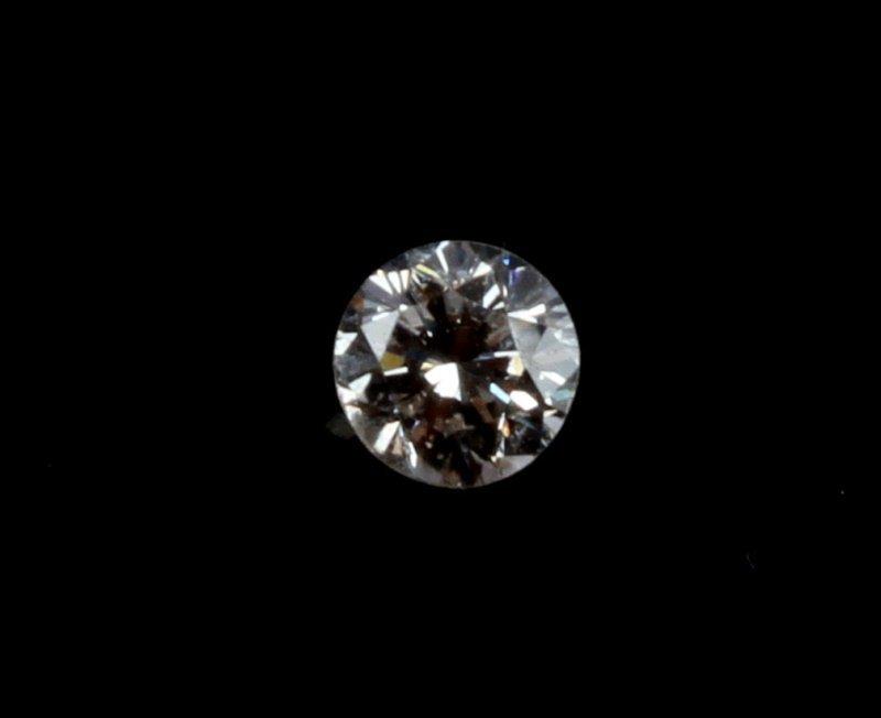 ROUND BRILLIANT CUT .20 CARAT LOOSE DIAMOND