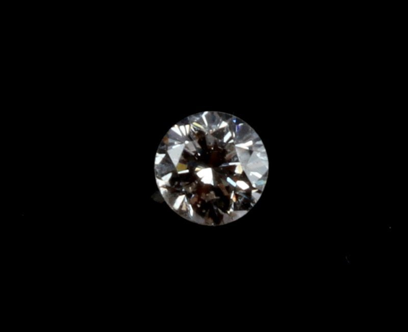 ROUND BRILLIANT CUT .20 CARAT LOOSE DIAMOND