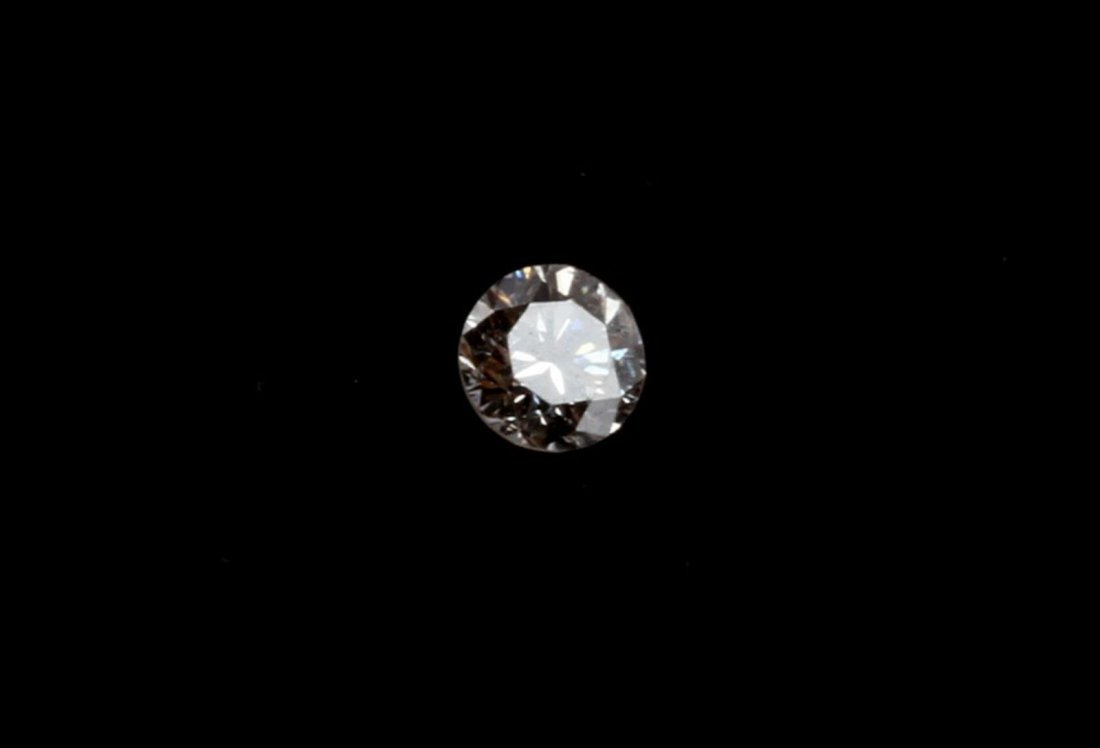 ROUND BRILLIANT CUT .20 CARAT LOOSE DIAMOND - 2