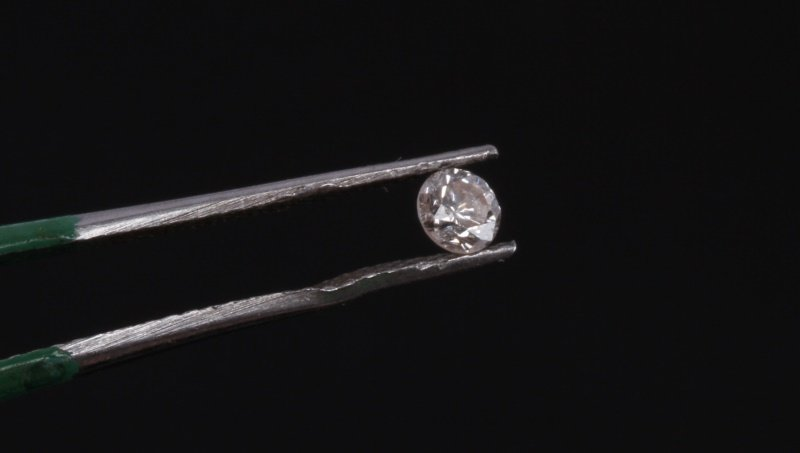 ROUND BRILLIANT CUT .20 CARAT LOOSE DIAMOND - 3