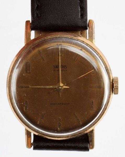 1960S SMITHS 21 JEWEL MEN'S DRESS WRIST WATCH - 2