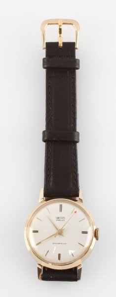 1960S SMITHS JEWELED  MEN'S DRESS WRIST WATCH