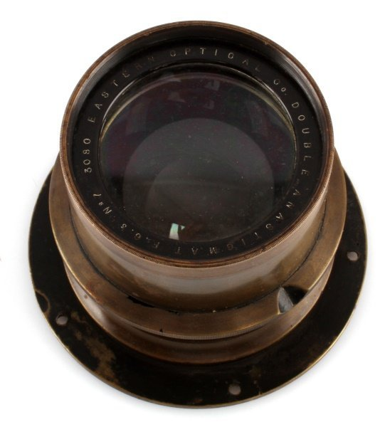 EASTERN OPTICAL N0 7 3080 ANTIQUE CAMERA LENS