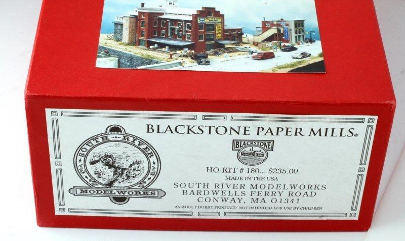 SOUTH RIVER BLACKSTONE PAPER MILLS HO KIT #180 - 3