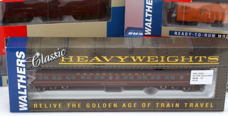 7 WALTHERS HO SCALE READY TO RUN RAILROAD CARS - 3