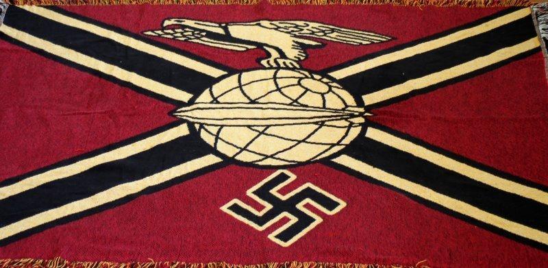 WWII THIRD REICH GERMAN GRAF ZEPPELIN TAPESTRY