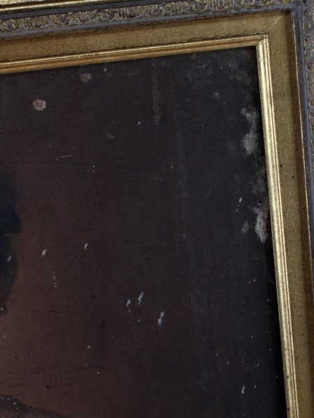 19TH CENTURY OIL ON BOARD YOUNG GIRL - 5