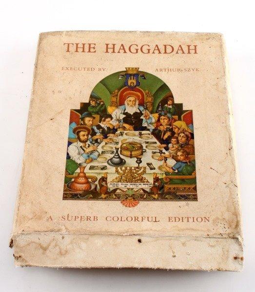 VINTAGE DECORATED THE HAGGADAH IN ORIGINAL BOX