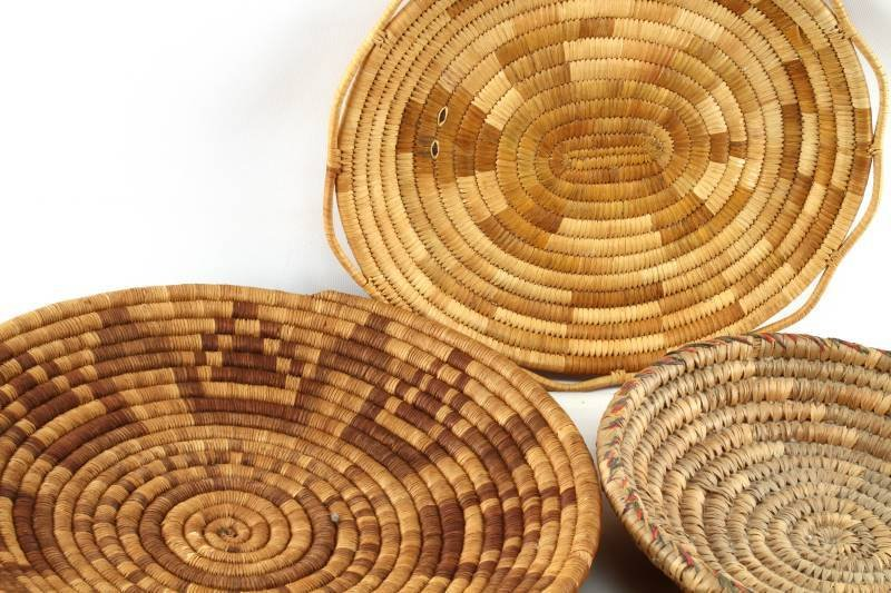 5 NATIVE AMERICAN INDIAN COIL BASKETS - 2