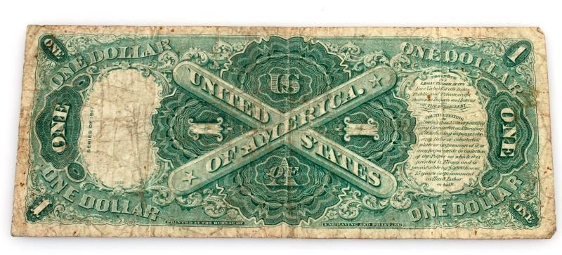 1917 SERIES LARGE SIZE U.S. NOTE RED SEAL - 3