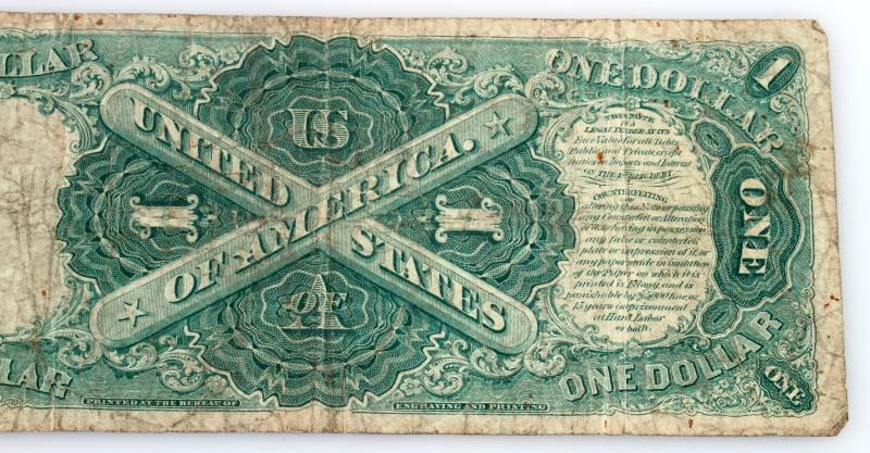 1917 SERIES LARGE SIZE U.S. NOTE RED SEAL - 4