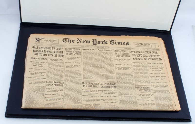 HISTORIC NEWSPAPER ARCHIVES THE NEW YORK TIMES